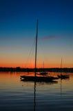Le yacht de 12 mètres courageux Images stock