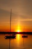 Le yacht de 12 mètres courageux Photographie stock libre de droits