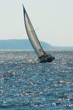 Le yacht participant au regatta Photos libres de droits