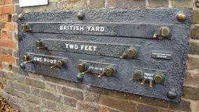 Le yard britannique sur l'observatoire royal près de Londres image libre de droits