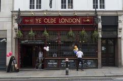 Le YE Londres d'antan Photos libres de droits