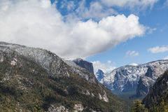 Le Yosemite Moutains Photo stock