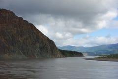 Le Yukon puissant Image libre de droits