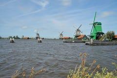 Le Zaanse Schans Images libres de droits