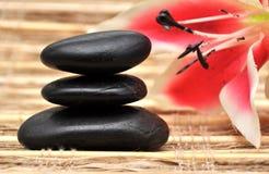Le zen lapide le plan rapproché Image libre de droits