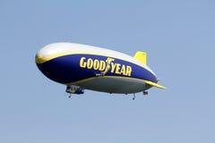 Le zeppelin NT de Goodyear Image libre de droits