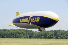 Le zeppelin NT de Goodyear Images stock