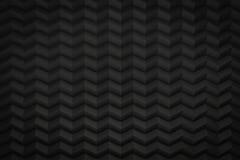 Le zigzag noir a vu que le fond avec la copie espacer 3d rendent Photographie stock libre de droits