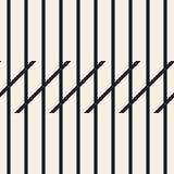 Le zigzag raye le modèle sans couture géométrique illustration libre de droits