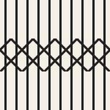 Le zigzag raye le modèle sans couture géométrique illustration de vecteur