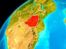 Le Zimbabwe de l'espace Images libres de droits