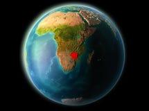 Le Zimbabwe le soir Images stock