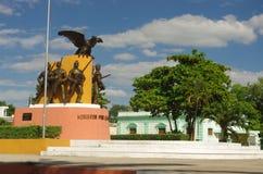 Place principale de Mérida Photographie stock