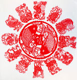 Le zodiaque chinois Image stock