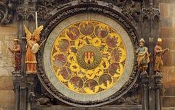 Le zodiaque signe dedans Prague Photos stock