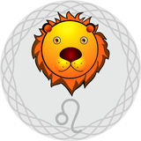 Le zodiaque signe Lion Photographie stock