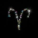 Le zodiaque stars le Bélier Image stock