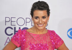 Lea Michele. Glee star Lea Michele at the People's Choice Awards 2013 at the Nokia Theatre L.A. Live. January 9, 2013  Los Angeles, CA Picture: Paul Smith / Stock Image