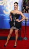 Lea Michele Fotografia de Stock Royalty Free