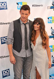 Lea Michele,Cory Monteith Stock Photos