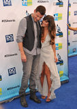 Lea Michele,Cory Monteith Royalty Free Stock Image