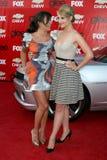 Lea Michele, Dianna Agron Zdjęcia Stock