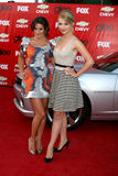 Lea Michele,Dianna Agron Royalty Free Stock Photo