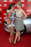 Lea Michele,Dianna Agron Stock Photos