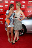 Lea Michelle,Dianna Agron Royalty Free Stock Photography