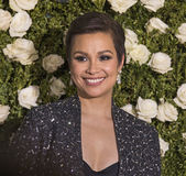 Lea Salonga. Actress, singer, Lea Salonga arrives for the 71st Annual Tony Awards at Radio City Music Hall in New York on June 11, 2017.  The event, televised Royalty Free Stock Photo