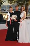 Lea Seudoux & Adele Exarchopoulos & Abdellatif Kechiche Royaltyfria Foton