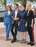Lea Seydoux & Gaspard Ulliel & Amira Casar & Aymeline Valade Royalty Free Stock Photography