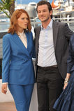 Lea Seydoux & Gaspard Ulliel Royalty Free Stock Images