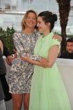 Lea Seydoux & Rebecca Zlotowski Stock Photos