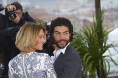 Lea Seydoux and Tahar Rahim Stock Photo