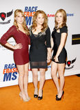 Lea Thompson, Madelyn Deutch and Zoey Deutch Stock Image