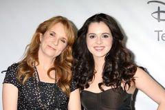 Lea Thompson, Vanessa Marano Royalty Free Stock Photos