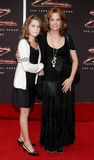 Lea Thompson and Zoey Deutch Royalty Free Stock Photos