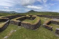 Leacanabuile Stone Fort - Cahirsiveen - Ireland Stock Photography