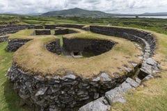 Leacanabuile Stone Fort - Cahirsiveen - Ireland royalty free stock image