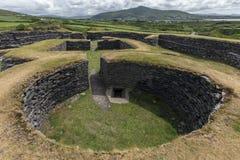 Leacanabuile Stone Fort - Cahirsiveen - Ireland stock image