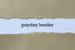 Payday lender on paper