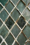 Lead crossed window Stock Image
