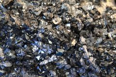 Lead crystals background Royalty Free Stock Photo