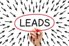 Free Lead Generation Arrows Concept Stock Image - 93027701
