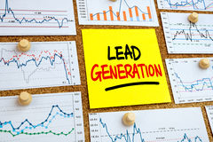 Lead generation concept Royalty Free Stock Image