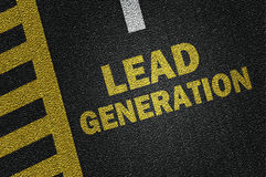 Lead generation Royalty Free Stock Images