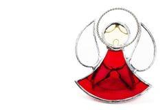 Lead glass angel figurine Royalty Free Stock Photography