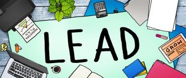 Lead Leadership Chief Team Partnership Concept Royalty Free Stock Image