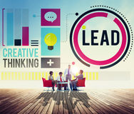 Lead Leadership Coach Trainer Management Concept Stock Image